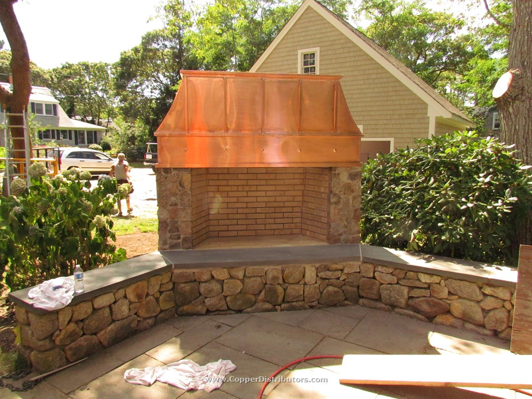 outdoor chimney how to fireplace with step fireplaces pictures build wikihow